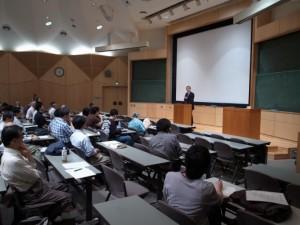 Dean Takashi Tsuboi (Univ of Tokyo)'s welcome speech