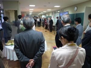 Prof. Takushiro Ochiai, Organizing Committee Chair, welcomes the participants.