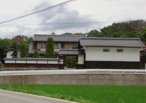 The house of the late Mr. Kinjiro Yanagisawa, where the Kobayashi family stayed in 1945 (the photo by courtesy of  Mr. Nobuyoshi Yanagisawa).